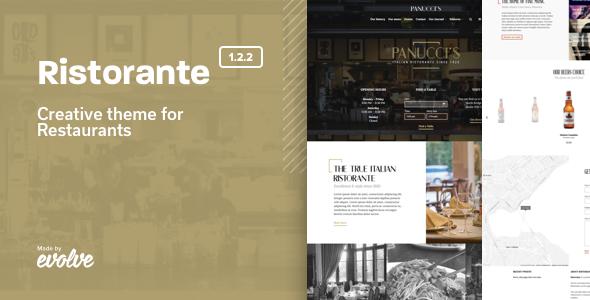 Ristorante - Creative Restaurant WordPress Theme