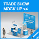 Trade Show Booth Mock-up v4 - GraphicRiver Item for Sale
