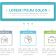 Diagram with 3 Elements - GraphicRiver Item for Sale