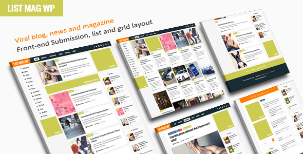 List Mag WP - A Responsive WordPress Blog Theme