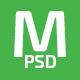 Massivex - Multipurpose Business Landing Page PSD - ThemeForest Item for Sale