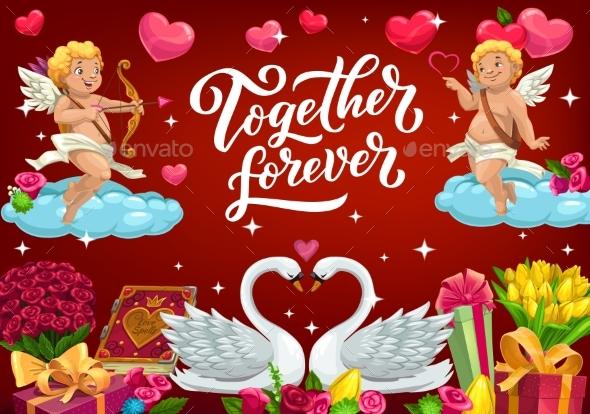 Together Forever Valentines Card