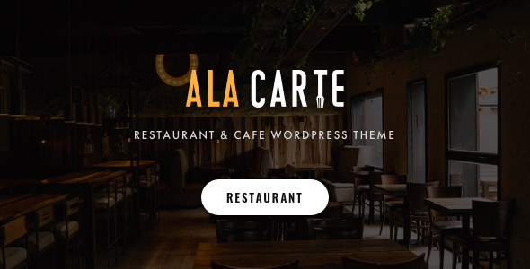 Alacarte – Restaurant & Cafe WordPress Theme Preview