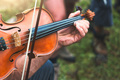 Violin played outdoors - PhotoDune Item for Sale