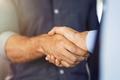 Close up of businessmen shaking hands - PhotoDune Item for Sale