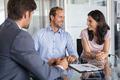 Mature couple meeting financial advisor - PhotoDune Item for Sale