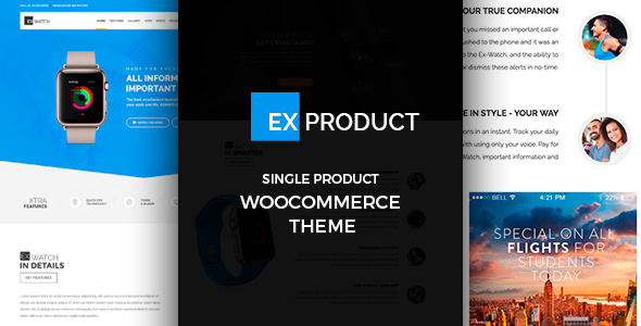 ExProduct - Single Product Theme