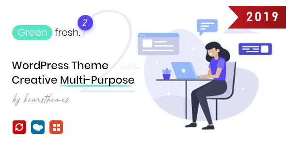 GreenFresh - Creative Multiuse WordPress Theme