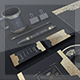 Kingdon Corporate Branding Stationary Identity - GraphicRiver Item for Sale