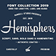 Hemisphers - Font Collection - GraphicRiver Item for Sale