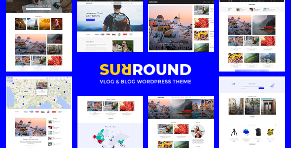 Surround - Vlog & Blog WordPress Theme