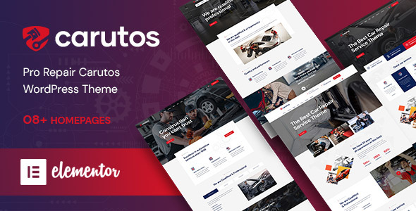 Carutos - Car Services WordPress Theme