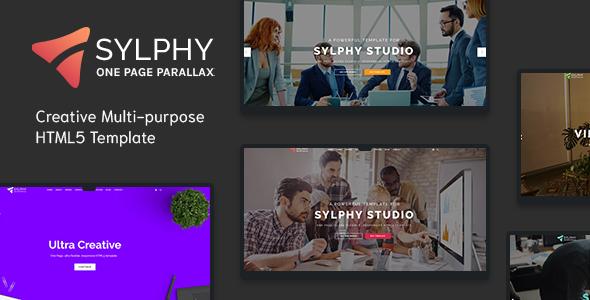 Sylphy - Creative Multi-purpose HTML5 Template