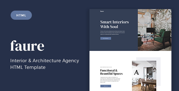 Download Faure – Interior & Architecture Agency HTML Template Nulled