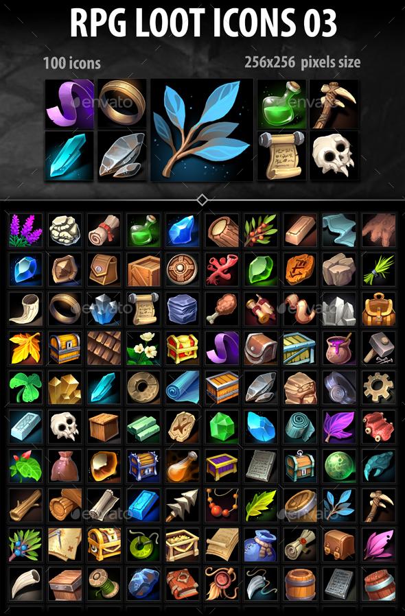 RPG Loot Icons 03