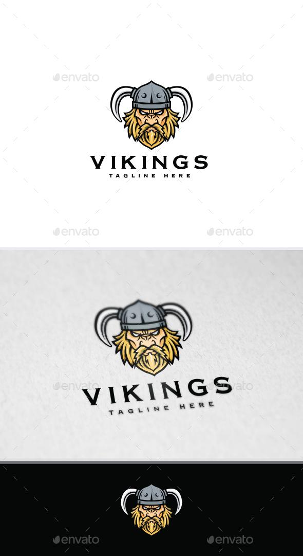 Vikings/ Warrior Logo