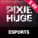 PixieHuge | eSports Gaming Theme For Clans & Organizations - ThemeForest Item for Sale