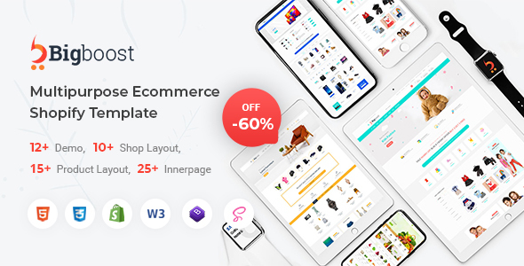 Download BigBoost – eCommerce HTML Template Nulled