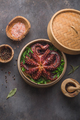 Big octopus in steamer with spices and herbs, close view - PhotoDune Item for Sale