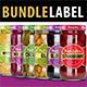 Jar Label Design Bundle (Jams, Pickles & Olive) - GraphicRiver Item for Sale