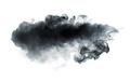 Black smoke on white background - PhotoDune Item for Sale