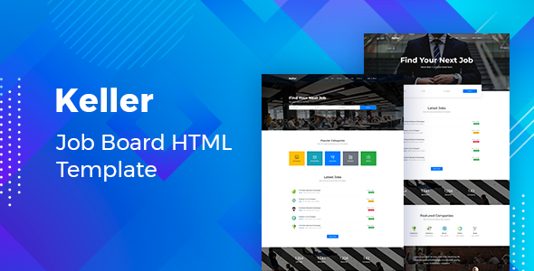 Download Keller – Job Board HTML Template Nulled