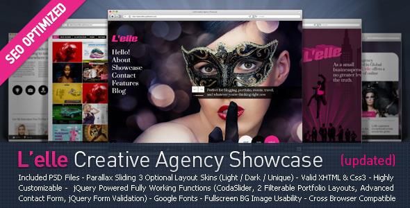 L'elle Creative Agency Showcase