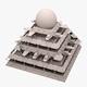 Futuristic Pyramid - 3DOcean Item for Sale