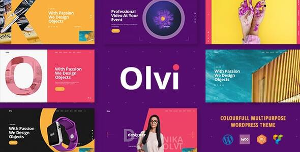 Olvi - Creative MultiPurpose WordPress
