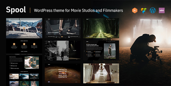 Spool - Movie Studios and Filmmakers WordPress Theme