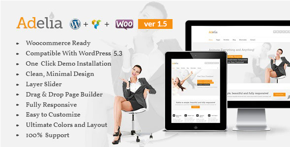 Adelia-Corporate Business Theme