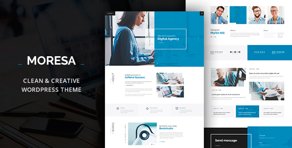 Moresa - Startup Agency Theme