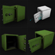 Safe Rigged LowPoly for game - 3DOcean Item for Sale