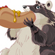 Raccoon Eats Hotdog - GraphicRiver Item for Sale