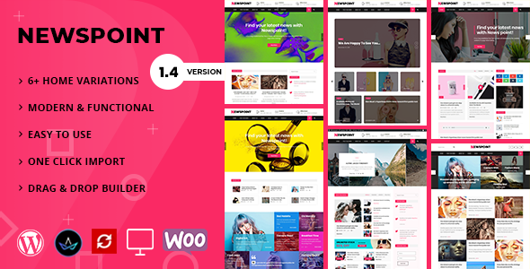 Newspoint - Blogging WordPress Theme