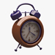 Alarm Clock 01 - 3DOcean Item for Sale
