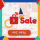 Sale Powerpoint Template - GraphicRiver Item for Sale