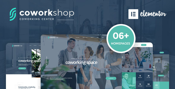 Coworkshop | Coworking Space WordPress Theme