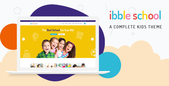Ibble - Education WordPress Theme