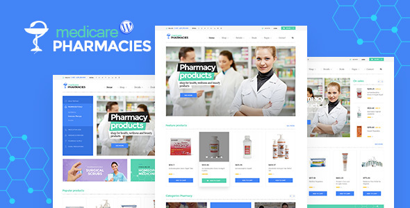 Medicare Pharmacies - Healthcare WordPress Theme