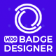 Woo Badge Designer - CodeCanyon Item for Sale