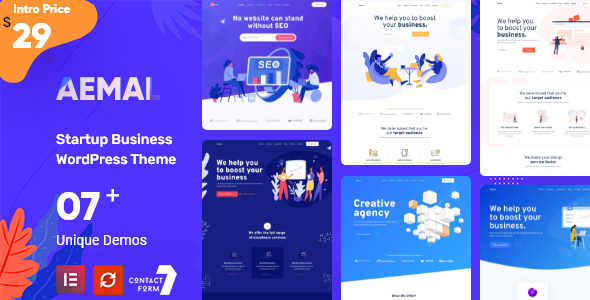 Aemal - Startup Business Theme
