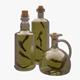 Olive Oil Bottles - 3DOcean Item for Sale
