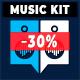 Shiny Fun Spring Ukulele Music Kit