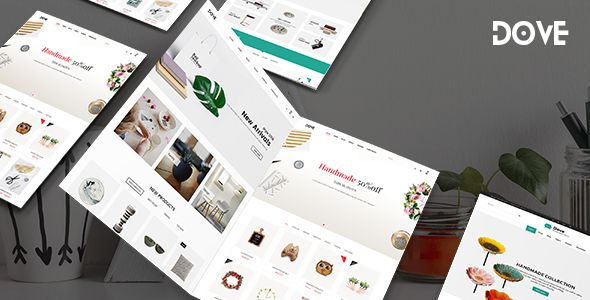 Dove | Handmade Crafts WooCommerce WordPress Theme
