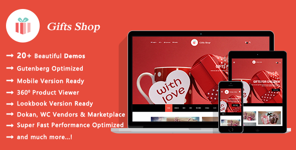 Gifts Shop | Handmade Souvenirs WooCommerce WordPress Theme