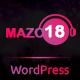 Mazo18 Night Club WordPress Theme - ThemeForest Item for Sale