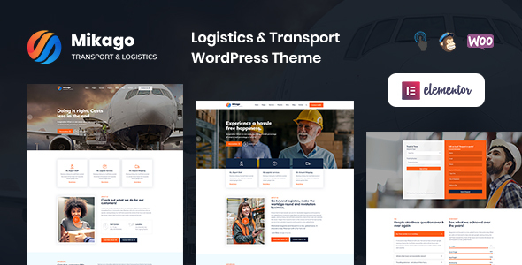 Mikago – Logistics & Transportation WordPress Theme