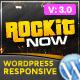 Rockit Now - Music Band WordPress Theme - ThemeForest Item for Sale