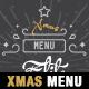 A4 Modern Christmas Menu Template - GraphicRiver Item for Sale